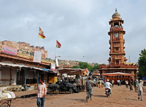Clock Tower Market - Rajasthan